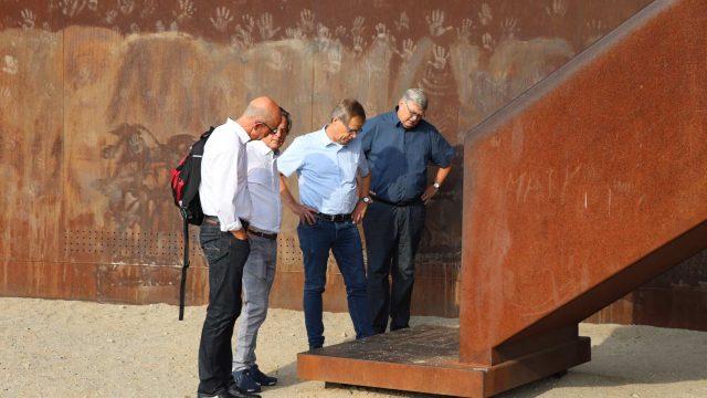 Zweckverband LANDFOLGE Garzweiler zum Erfahrungsaustausch im Lausitzer Revier