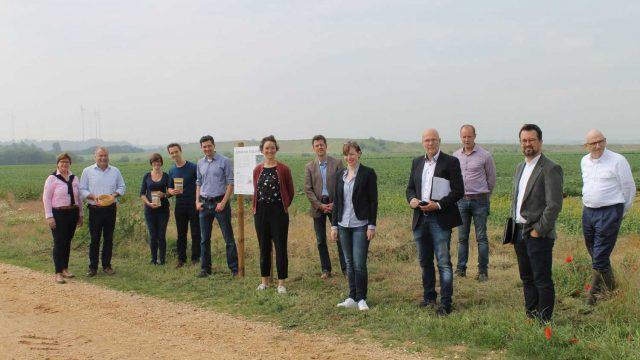 "Eröffnung des Infopfades zum Projekt ""Setup Food Strip"""