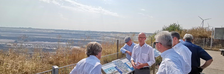 Prof. Dr. Andreas Pinkwart im Dialog mit dem Zweckver-band